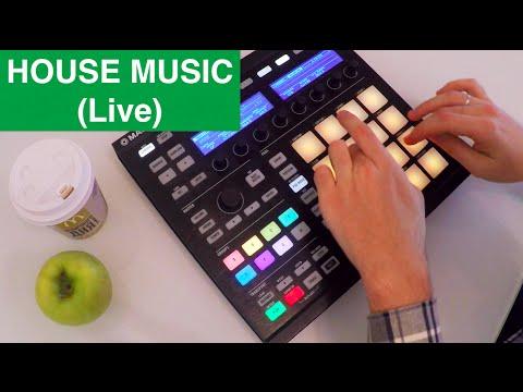 HOUSE MUSIC (live making) – NI MASCHINE performance