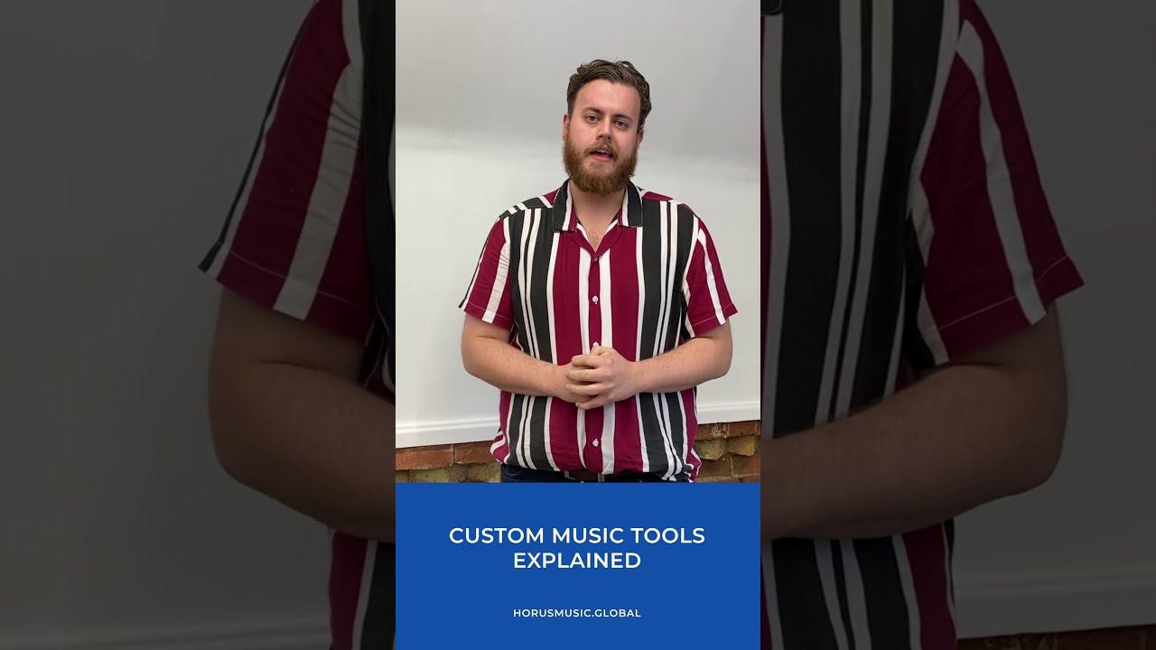 Horus Music – Custom Music Tools Explained
