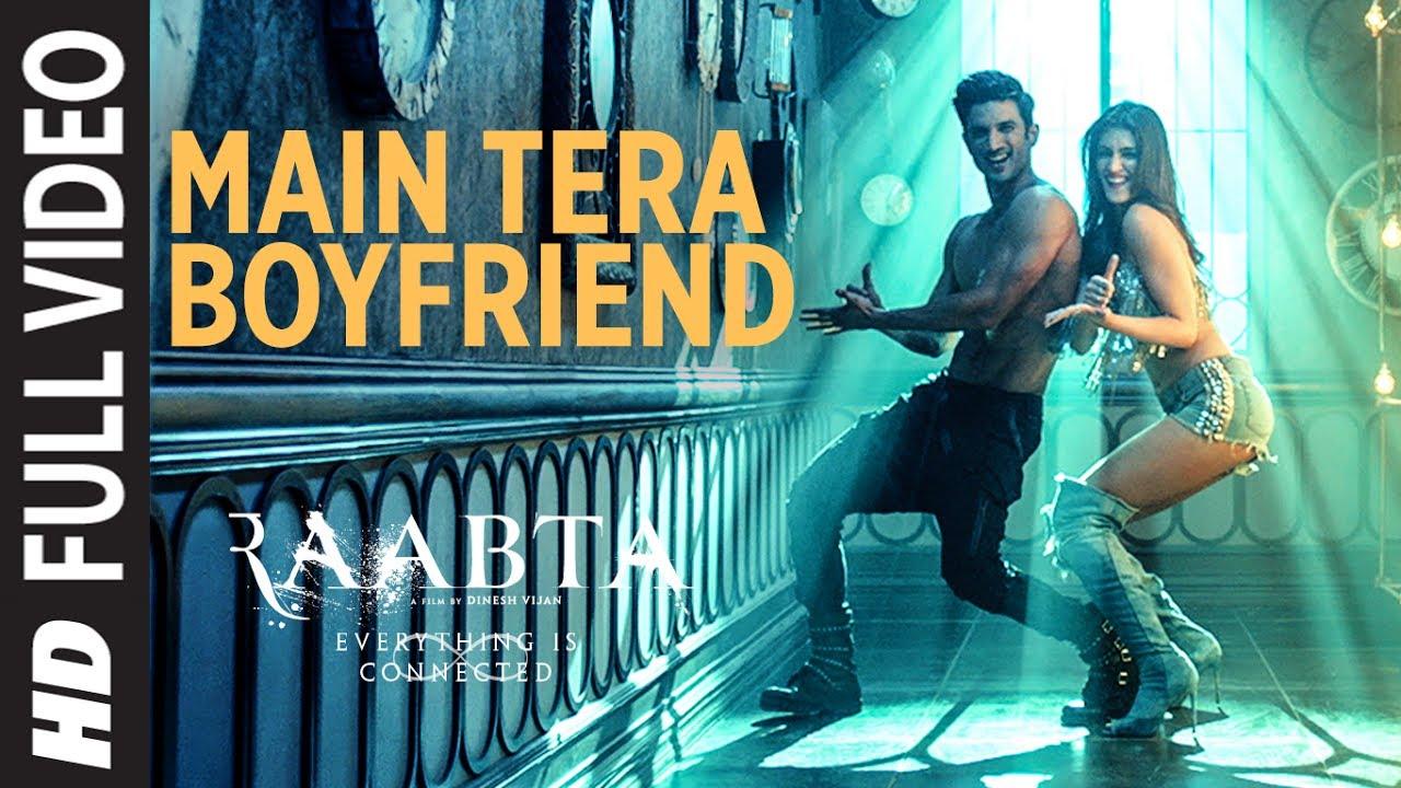 Main Tera Boyfriend Full Video   Raabta   Arijit Singh   Neha Kakkar   Sushant Singh Kriti Sanon