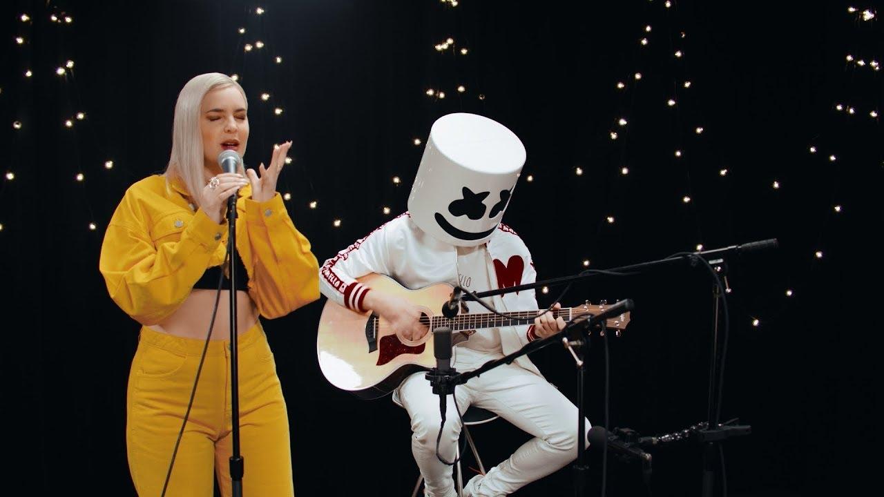 Marshmello & Anne-Marie – FRIENDS (Acoustic Video) *OFFICIAL FRIENDZONE ANTHEM*